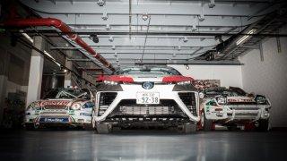 Ticho jako v kostele aneb vodíková Toyota Mirai se předvedla na německé rallye