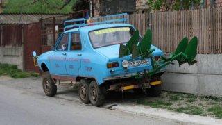 Mercedes se krčí strachy: Dacia 1300 má verzi 6x6!