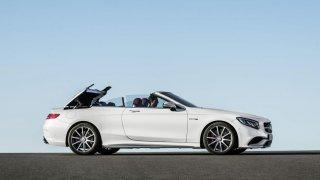 Mercedes S-Class Cabrio.