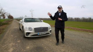 Recenze Bentley Continental GT V8
