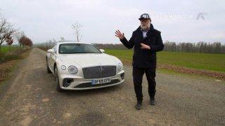 Recenze Bentley Continental GT V8