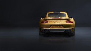 Zlaté Porsche 911 Turbo S Exclusive 2