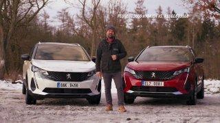 Recenze Peugeotu 3008 Hybrid4 GT a 5008 1.6 PureTech GT