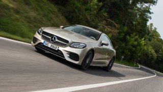 Mercedes-Benz E ve verzi Coupe je nádherné auto.