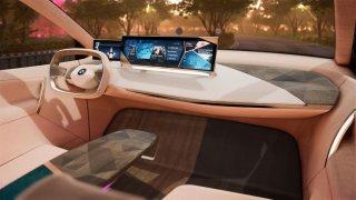 Las Vegas nabídne virtuální projížďku v BMW Vision iNEXT