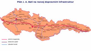 Baťova dálnice (projekt 1937)