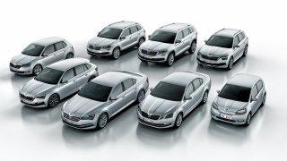 Paleta modelů Škoda 2019