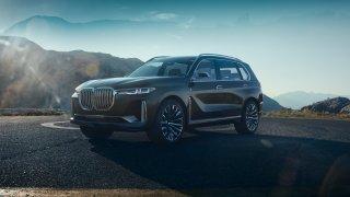 Katedrála z budoucnosti. BMW Concept X7