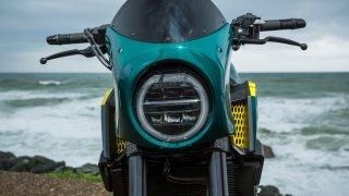 Custom přestavba modelu Honda CB650R