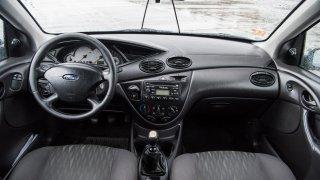 Ford Focus Combi 1.8 TDCI interiér 1