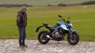 Recenze levného motocyklu CF Moto 650NK