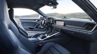 Porsche 911 interiér 1