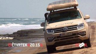 Dnešní Autosalon potěší všechny dobrodruhy. Čekají na nás totiž nástrahy namibijské pouště