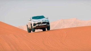 Pouštní války v italském stylu. Lamborghini láká na nové SUV