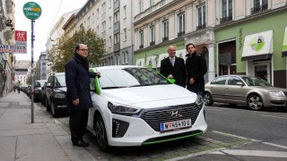 Carsharing ve Vídni využívá hybridy Hyundai