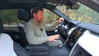 Nový Land Rover Discovery má tajnou schránku. Skrývá ji panel ovládání klimatizace