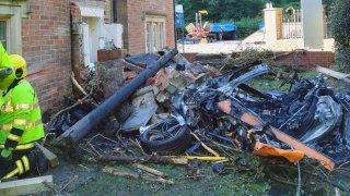 Nehoda McLarenu 570S