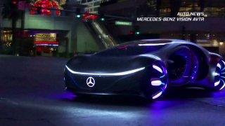 Auto news: Mercedes-Benz Vision AVTR, Tesla Dog Mode, Sony Vision-S