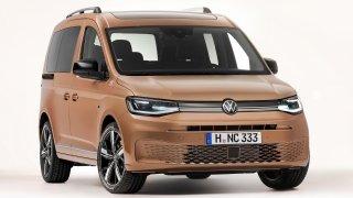 Nový Volkswagen Caddy si proti předchůdci nejvíce pomohl v nákladovém prostoru. Je tam delší a širší