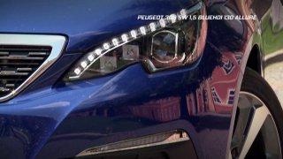 Recenze francouzského rodinného kombi Peugeot 308 1.5 BlueHDi