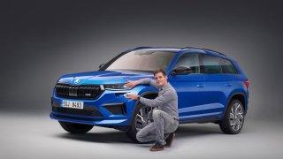 Škoda představila modernizovaný Kodiaq. Vrací se nejsilnější provedení RS, a bude ještě rychlejší