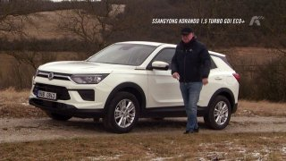 Test SUV SsangYong Korando 1.5 Turbo GDI Eco+