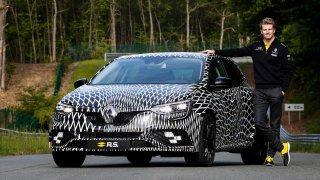 Renault Mégane R.S. odkrývá své tvary 1