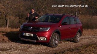 Test levného rodinného kombi kříženého s SUV Dacia Logan MCV 1.5 Blue dCi