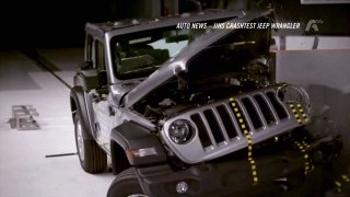 Auto news: crash test Jeepu Wrangler, VW Atlas, Mini JCW GP, Alfa Romeo Quadrifoglio