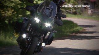 Recenze cestovního motocyklu Kawasaki Versys 1000 SE