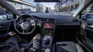 Volkswagen - automatizovaná jízda v Hamburku 3