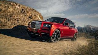 Rolls-Royce, který tu ještě nebyl. To je Rolls-Royce Cullinan.