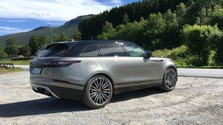 Vyzkoušeli jsme Range Rover Velar. 2