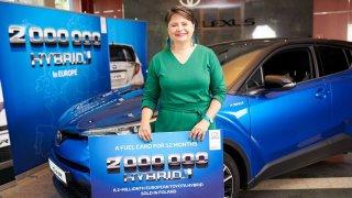 Toyota prodala dvoumiliontý hybrid v Evropě
