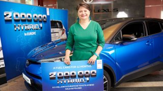 Toyota dva miliony hybridů v Evropě