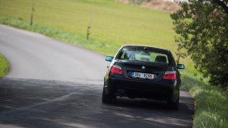 BMW 530i E60 jízda 1