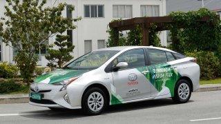 Toyota pracuje na hybridním pohonu flexible fuel