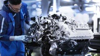Výroba motoru pro nové BMW řady 8 Coupé
