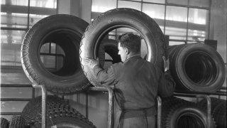 Barum výroba 1948