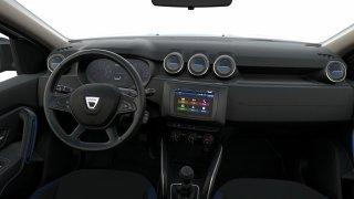 Dacia Duster - interiér