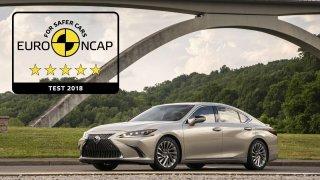 Pětihvězdičkový výsledek v testech Euro NCAP pro Lexus ES