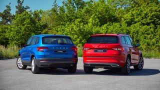 Škoda vylepšila svá SUV. Karoq i Kodiaq dostaly novou výbavu a motor