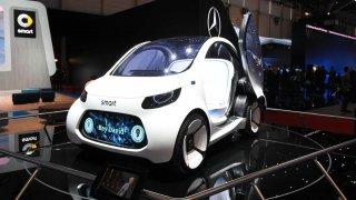Vize sdílení vozidel budoucnosti - smart vision EQ fortwo