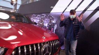 Reportáž: online premiéra Mercedesu-Benz GLE kupé