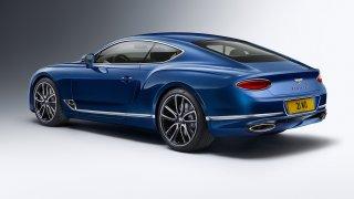 Třetí generace luxusního kupé Bentley Continental