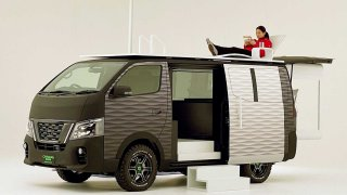 Koho by bavilo trčet doma. Nissan vymyslel pojízdný home office do koronavirové pandemie