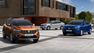 Dacia modernizovala hned trojici aut: Sandero, Sandero Stepway a Logan. Příznivá cena zůstavá