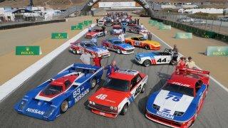 Nissan se prezentoval na setkání Rolex Monterey Motorsport Reunion
