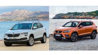 Bestseller Škoda Karoq nebo nedoceněný Seat Ateca? Podívali jsme se na výhody a nevýhody ojetých SUV
