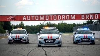 Hyundai i30 N bude v Brně jezdit jako safety car